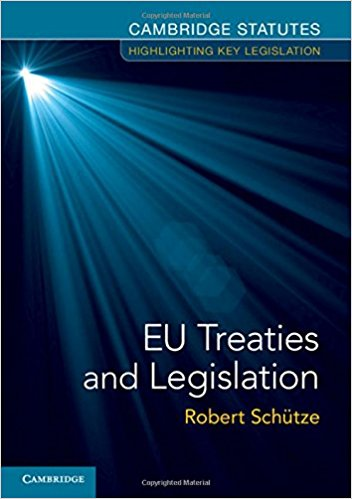 EU Treaties and Legislation Paperback – August 20, 2015