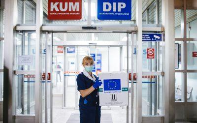 EU donirala 40.000 jedinica visoko kvalitetnog materijala za kontrolu testova na virus korone Bosni i Hercegovini