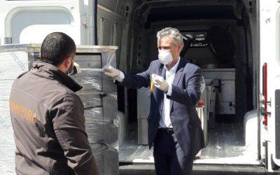 Ambasador Sattler posjetio Pomozi.ba i uručio donaciju EU za javnu kuhinju