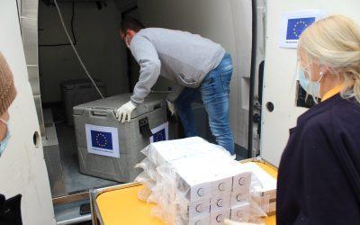 Isporučeni prvi testovi na koronavirus koje je finansirala EU