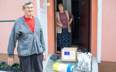 EU obezbijedila pakete pomoći socijalno ugroženim porodicama